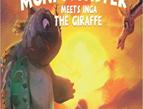 Moni Monster Meets Inga the Giraffe